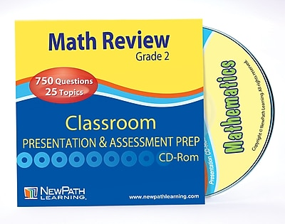 Math Interactive Whiteboard CD-ROM Site License Grade 2