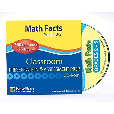 Math Facts Interactive Whiteboard CD-ROM