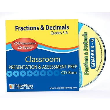 Fractions & Decimals Interactive Whiteboard CD-ROM