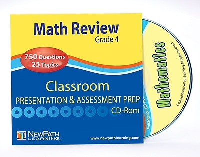 Math Interactive Whiteboard CD-ROM Site License Grade 4