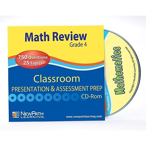 Math Interactive Whiteboard CD-ROM Site License Grade 4