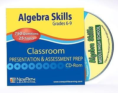 Algebra Skills Interactive Whiteboard CD-ROM