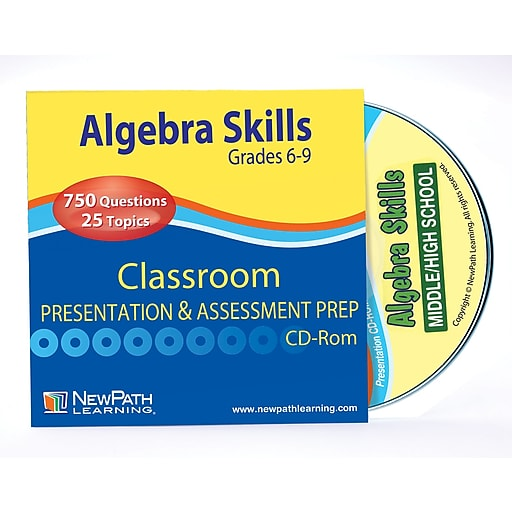 Algebra Skills Interactive Whiteboard CD-ROM