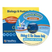 NewPath Learning Biology and the Human Body Interactive Whiteboard, CD-ROM