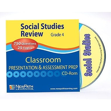 Social Studies Interactive Whiteboard CD-ROM Grade 4