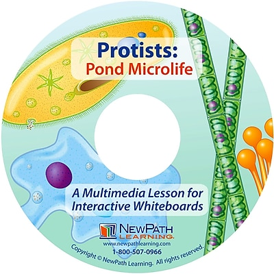 NewPath Learning Protists - Pond Microlife Multimedia Lesson