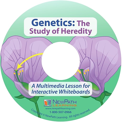 NewPath Learning the Study of Heredity Genetics Multimedia Lesson, Grade 6-10