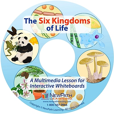 NewPath Learning Six Kingdoms of Life Multimedia Lesson, Grade 6-10