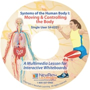 NewPath Learning Systems of the Human Body I: Moving & Controlling the Body Multimedia Lesson, CD-ROM, Single-user License