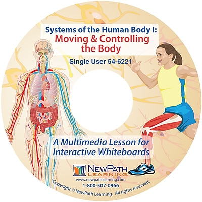 NewPath Learning Systems of the Human Body I: Multimedia Lesson, CD-ROM, Single-user License