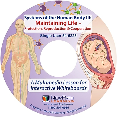 NewPath Learning Systems of the Human Body III Multimedia Lesson, Single-user License