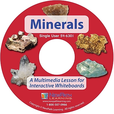 NewPath Learning Minerals Multimedia Lesson