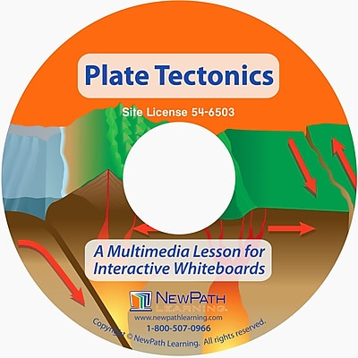 NewPath Learning Plate Tectonics Multimedia Lesson, Multi-user Version