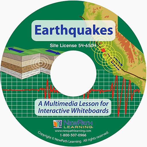 NewPath Learning Multimedia Lesson on Earthquakes