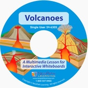 NewPath Learning Volcanoes Multimedia Lesson Single User License