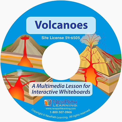 NewPath Learning Volcanoes Multimedia Lesson