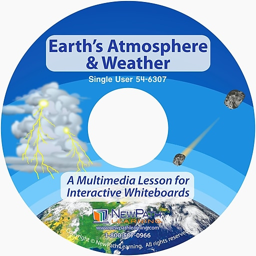 NewPath Learning Earth's Atmosphere and Weather Multimedia Lesson