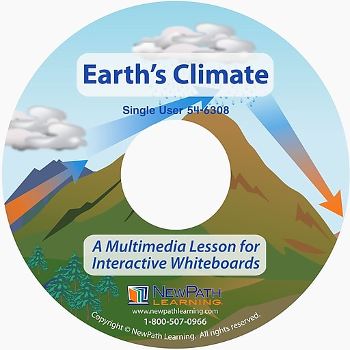NewPath Learning Earth's Climate Multimedia Lesson