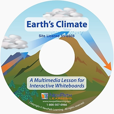NewPath Learning Earth's Climate Multimedia Lesson Site License