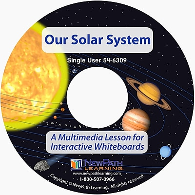 NewPath Learning Our Solar System Multimedia Lesson