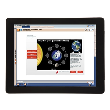NewPath Learning Sun Earth Moon System Multimedia Lesson