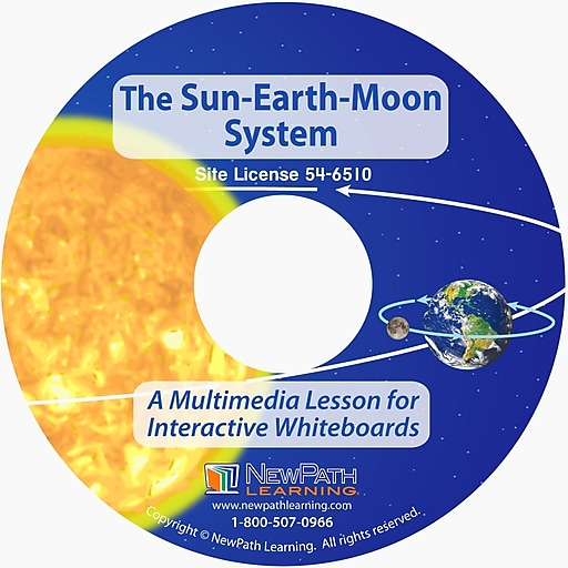 NewPath Learning the Sun, Earth & Moon System Multimedia Lesson