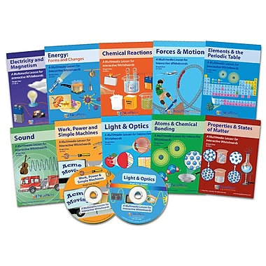 NewPath Learning Complete Physical Science & Chemistry Multimedia Set, 10 Lessons