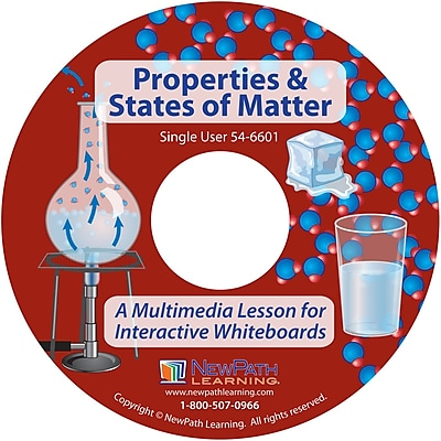 NewPath Learning Properties & States of Matter Multimedia Lesson