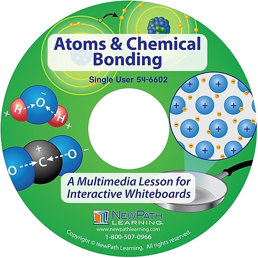 NewPath Learning Atoms and Chemical Bonding Multimedia Lesson