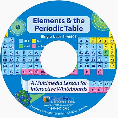 NewPath Learning Elements and the Periodic Table Multimedia Lesson