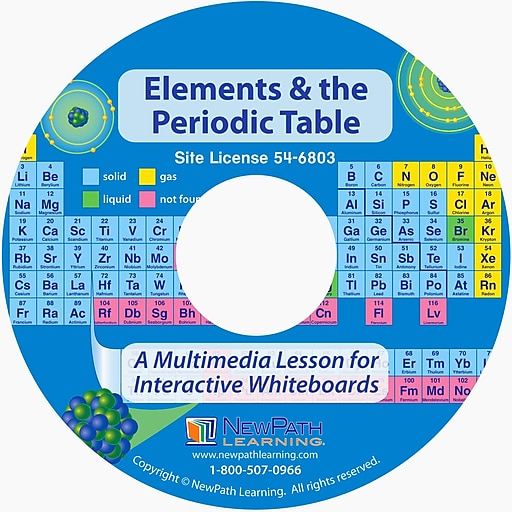 NewPath Learning Elements & the Periodic Table Multimedia Lesson