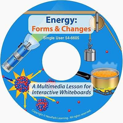 NewPath Learning Energy Forms and Changes Multimedia Lesson