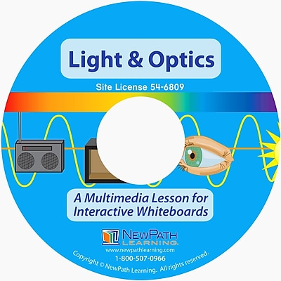 NewPath Learning Multimedia Lesson on Light