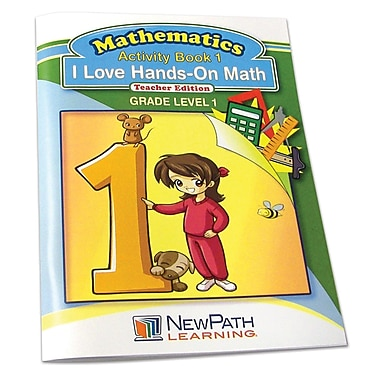I Love Hands-On Math Reproducible Workbook
