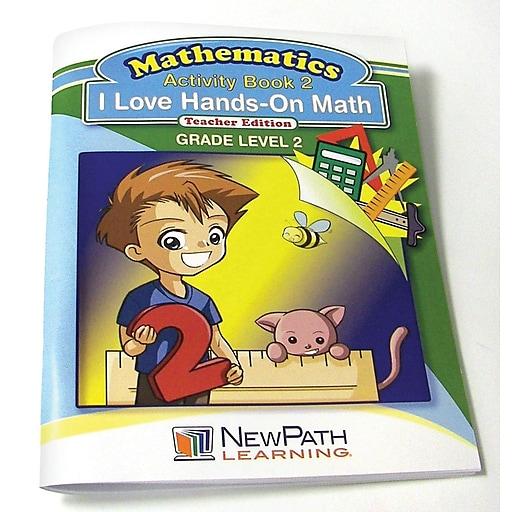 I Love Hands-On Math Workbook