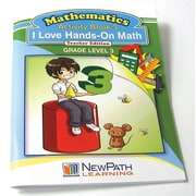 I Love Hands-On Math Reproducible Workbook Grade 3