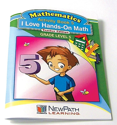 I Love Hands-On Math Reproducible Workbook Grade 5