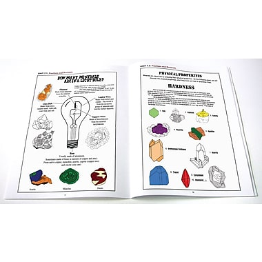 NewPath Learning the World of Minerals and Crystals Workbook Set, Includes Teacher's Guide
