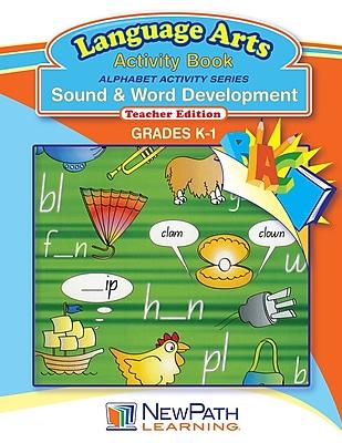 NewPath Learning Alphabet Activity Series - Sound and Word Development Workbook