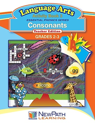 Essential Phonics Series - Consonants Workbook