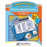 Phonics Board Games Reproducible Workbook
