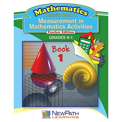 Measurement in Math Series Reproducible Workbook Grade K - 1