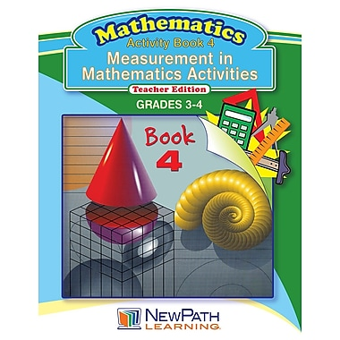 Measurement in Math Series Reproducible Workbook Grade 3 - 4