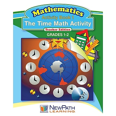 The Time Math Activity Reproducible Workbook Grade 1 - 2