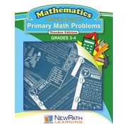 Primary Math Problems Series Workbook Grade 4