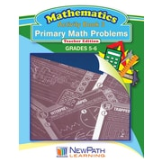 Primary Math Problems Series Workbook Grade 6