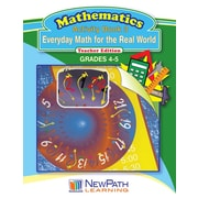Everyday Math for the Real World Series Workbook Grade 5