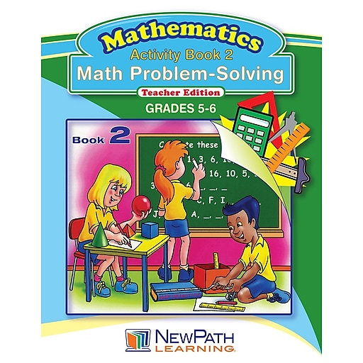 Math Problem-Solving Series Workbook Grade 6