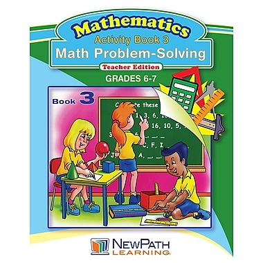Math Problem Solving Series Reproducible Workbook