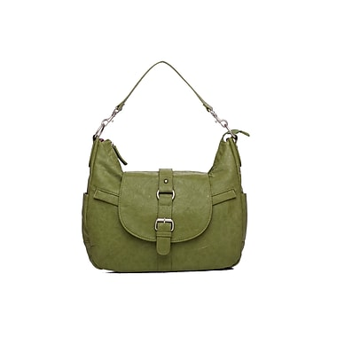 Kelly Moore B-Hobo Bag with Removable Basket, Grassy Green